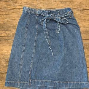 Gap Wrap Skirt